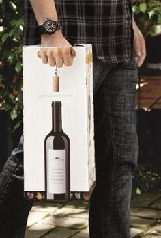Wine packaging Club des Sommeliers 2012 on Behance Clever Packaging, Bottle Packaging, Packaging Design, Wine Label Design, Bottle Design, Wine Brands, Wines, Designer, Guerrilla Advertising