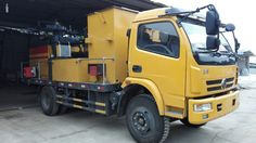 High efficiency pavement integrated maintenance vehicles