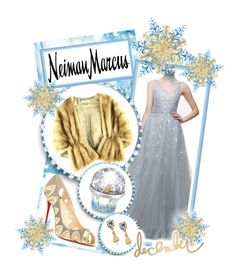"""""""The Holiday Wish List With Neiman Marcus: Contest Entry"""" by nychicstyler ❤ liked on Polyvore featuring Christian Louboutin, Carolina Herrera, Neiman Marcus, House of Sillage, Lulu Frost and neimanmarcus"""