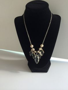 Only $15.00 including shipping!  https://www.etsy.com/listing/207818983/silver-textured-metal-and-champagne-bead?