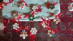 Graziose Decorazioni Natalizie fatte con tappi di sughero da vino! :-) Anche in vendita, Per informazioni di qualsiasi tipo contattatemi!