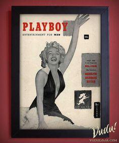 Quadro Playboy Marilyn Monroe - 1º Edição