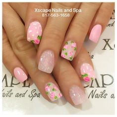 Pastel Daisies Roses Neon Stripes Chevron Light Purple Bunny Ears Yellow & Gray Gold Leaf Bunnies & Butterflies Polka Dots Dotticure Cross Design Bunny Tips Peeping Bunny Faith Related Posts Awesome Halloween Nail Art Designs. Fancy Nails, Trendy Nails, Diy Nails, Valentine's Day Nail Designs, Acrylic Nail Designs, Art Designs, Easter Nail Designs, Acrylic Nails, Easter Nail Art