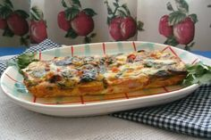Frittata in the oven
