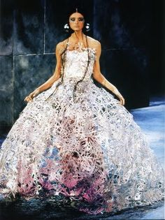Fashion is My Muse: Crinolines in Contemporary Fashion Alexander McQueen for Givenchy Haute Couture, S/S 2000.