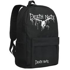 7a1b1c3d441e Death Note Ryuuk Glow In The Dark School Backpack