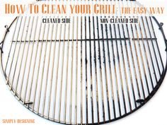 How to Clean Your Grill + Giveaway