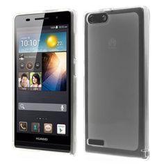 Mesh - Huawei Ascend G6 - Back Case Hoesje Siliconen Transparant | Shop4Hoesjes.nl