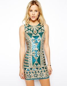 Needle & Thread Sunstone Mini Dress