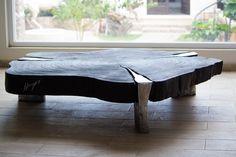 MESAS DE MADERA Y ALUMINIO FUNDIDO. Wooden tables and Cast Aluminium