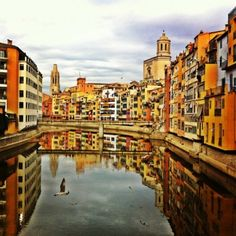 Girona, Spain/ I was lucky to walk over this bridge every day