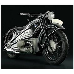 """""""1934, BMW R7 Streamliner.. Wrapped up for over 70years. What a dream to restore and bring back into daylight. Built by Designer Alfred Boning by…"""""""