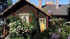 The house and studio of sculptor Emil Wikström, Visavuori, Finland