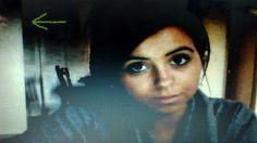 Eerie figure photobombs woman's webcam selfie