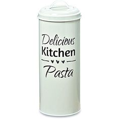 The Farmers Market DELICIOUS KITCHEN PASTA, Canister Keep...