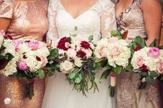 Winter Wedding Bouquets at Church on Main, Chattanooga TN Wedding Bouquets, Wedding Dresses, Wedding Photography, Winter, Fashion, Bride Dresses, Winter Time, Moda, Bridal Gowns