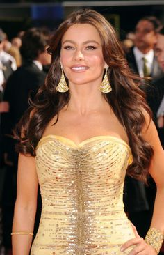 Brunettes don't have to get blonde highlights. Check out Sofia Vergara's tone on tone brown highlights.