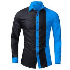African Shirts For Men, African Dresses Men, African Clothing For Men, African Men Fashion, Ladies Fashion, Shirt Sleeves, Long Sleeve Shirts, Mens Designer Shirts, Slim Fit