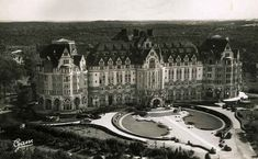 What a pity that this palace hotel was destroyed ! The Royal Picardy Hotel, Le Touquet Paris-Plage
