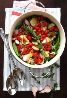 The Best of this Life: Mediterranean Salad