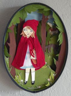 Would love to do a project like this for Abby, especially if it's from an old German children's book.
