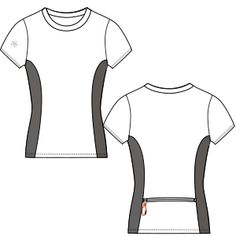 Elige los patrones de moda que usan las marcas más prestigiosas Remera 6872 DAMA Remeras