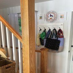 Rustic Wood Coat Rack with Shelf - Spotlight Home Goods — Penn Rustics Rustic Modern, Rustic Wood, Rustic Decor, Modern Farmhouse, Towel Organization, Entryway Organization, Coat Rack Shelf, Wall Mounted Coat Rack, Ppg Paint