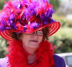 Big red hat .Flickr