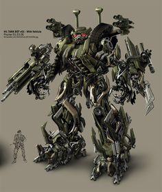 concept robots: Ben Procter concept Transformers robot art