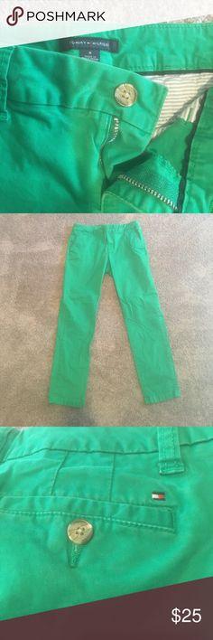 Tommy Hilfiger Green pants Tommy Hilfiger Green pants Tommy Hilfiger Pants Straight Leg