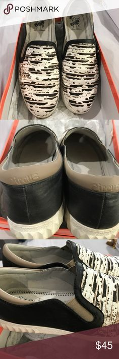 Sam Edelman Circus by Sam Edelman leather slip on sneaker Circus by Sam Edelman Shoes