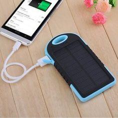 5000mAh-Portable-Waterproof-Solar-Charger-Dual-USB-External-Battery-Power-Bank