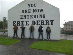 Celtic Thunder AND a historical site in Derry, NI.
