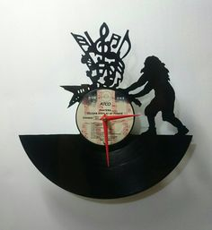 Dimebag Darrell Pantera Record Wall Clock by High5Design on Etsy 50.00 MUST GET ONE