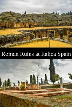 Things to do in Seville, Italica is the best preserved Roman ruins in Spain. Birthplace of 2 Roman Emperors, home to the 3rd largest Colosseum in the Roman Empire.                                              --------------------------------------------------------------------------------------------------------------------------------------------------------------------------- Seville attractions | What to see in Seville | Visit Seville | Day trips from Seville | Roman Spain | Andalucia…