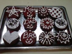 Red Velvet Oreo Surprise cupcakes by Fan Suvaiba K. Which design is your favorite?