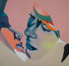 Beata Chrzanowska, Paintings. What does it mean to be in love? Via SUPERSONIC ART