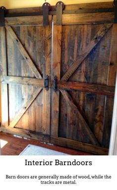 Dairy Farm Original United Old Wooden Barn Door With Hinges Architectural Salvage