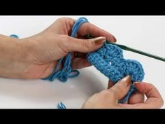 How to crochet a beautiful Scallop Edge. VERY short & easy-to-follow videoand makes a lovely edge!