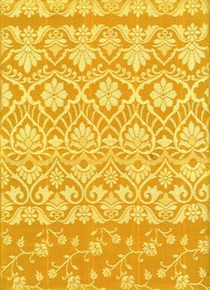 Yellow saree pattern by ~LaTaupinette @DeviantArt