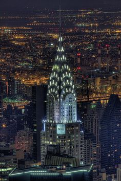 The Chrysler Building - pure Art Deco.