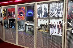 Exposició de George Duboise, sobre los Ramones. Apolo Store.
