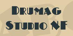 Drumag Studio NF Font · 1001 Fonts