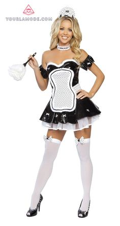 Halloween Maid Costume