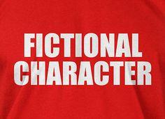 Fictional Character T-shirt Book Comics Books Mens Ladies Funny Geek T-shirt