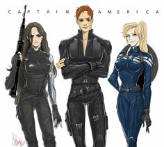 captain america and black widow genderbend - Buscar con Google