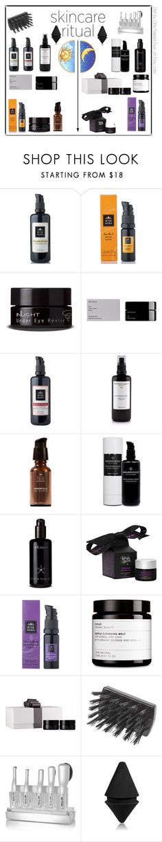 """""""Night and Day"""" by onenakedewe ❤ liked on Polyvore featuring beauty, Rosemira, Inlight Skincare, Alex Carro, Isla Apothecary, Kiss the Moon, Mason Pearson, Artis, Givenchy and skincare"""