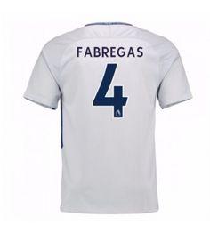 Billiga Chelsea Cesc Fabregas 4 Bortatröja 17-18 Kortärmad Stamford, Chelsea Fc, Premier League, Sports, Tops, Fashion, Moda, La Mode, Sport