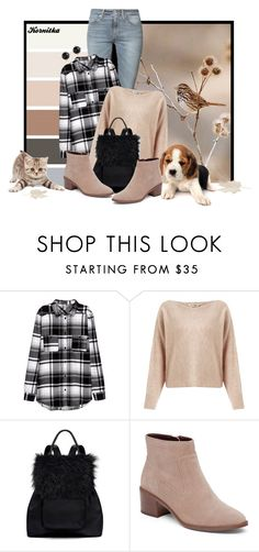 """""""nr 359 / my autumn day"""" by kornitka ❤ liked on Polyvore featuring Tiger of Sweden, Miss Selfridge, Elizabeth and James, BCBGeneration and Irene Neuwirth"""