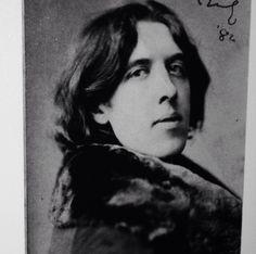 My spirit animal is Oscar Wilde